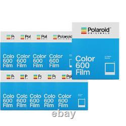 10 Pack Polaroid Originals 6002 Instant Color Film 600 Cameras