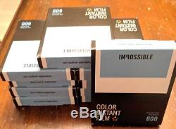 10 x Impossible Project PRD4514 Color Instant Film for Polaroid 600 Camera