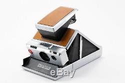 (128) Polaroid SX-70 Alpha 1 silver instant camera EXC+++ condition