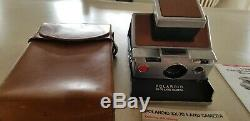 1970s Vintage Poloroid Sx-70 Instant Land Camera Slr Hardly Used, In Near Mint