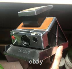 3 UNTESTED Polaroid Cameras, 1 SX-70, 2 Land Cameras + Carrying Case