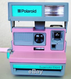 Appareil photo instantané POLAROID SUPERCOLOR ESPRIT Rare modèle collector
