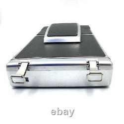 As Is Polaroid SX 70 Instant Land Camera Sonar AutoFocus tripod+ holder CLEAN