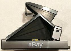 BEAUTIFUL Vintage POLAROID SX-70 Alpha One 1 Land Camera with Box Case Flash