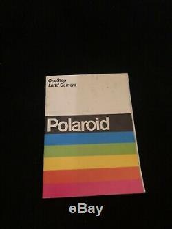Beautiful Rare Vintage 1972 Polaroid Sx-70 Land Camera Slr With Attachments