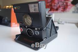 Black Polaroid SLR 680 1A voll funktionsfähig Topzustand