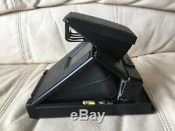 Black Polaroid SX-70 Alpha 1 SE Instant Camera-Film&Flash Tested-Mint-Ships Now