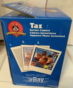 Brand new Looney Tunes TAZ Instant Camera uses Polaroid 600 Films NIB