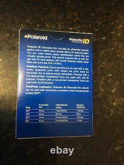 CASE OF 25 Polaroid Polacolor ID Color Instant Pack Film, 3.25 X 4.25, 2 Pk / 20