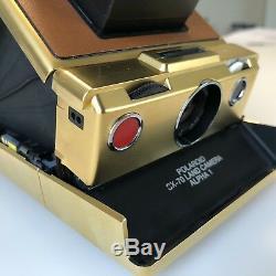 Camara Polaroid Sx-70 Alpha-1 GOLD EDITION
