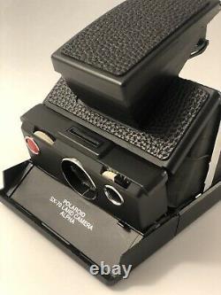 Camara Polaroid Sx-70 Alpha 1 Model 2 NEGRA