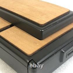 Camara Polaroid Sx-70 Model 2 NEGRA con Skin en Madera Autentica GARANTIZADA