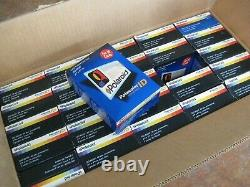 Case of 25 boxes Polaroid Polacolor color instant pack film for ID cards, lot of