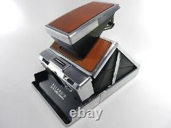 Classik Polarid Sx-70 Land Camera Komplett Wie Abgebildet Top Funktion! Tested