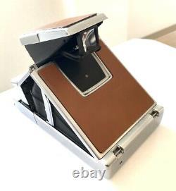 DHL Exc+5 Vintage Polaroid SX-70 Land Camera Alpha 1 From JAPAN #1397
