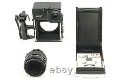 EXC+5Polaroid 600SE Instant Film Camera with Mamiya 127mm F/4.7 from Japan #791