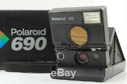 EXC+5 in BOX Tested! Polaroid 690 SLR Instant Film Camera From Japan # 291