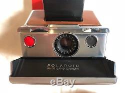 EXC. +++ Vintage Polaroid SX-70 Land Camera full CLA and film tested