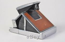 Exc+++ Polaroid Sx-70 Land Camera, Very Clean +rare Fitted Case, Manuals, Bars