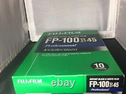 FUJI FP-100b45 4x5 INSTANT FILM Fp-100b Fp100b Fujifilm 3000b