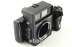 FedEx N Mint Polaroid 600SE Instant Film Camera Mamiya 75mm F5.6 from Japan