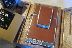 Fotocamera Polaroid SX70 SX-70 PERFETTA + case in pelle