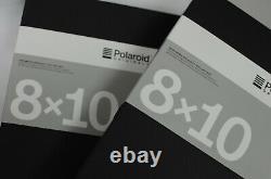 Fresh Stocks Polaroid Originals 10x8 Black & White Film 10 Sheets