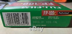 Fujifilm FP-100C Instant Color Film 11 packs expired plus a 4x5 polaroid back