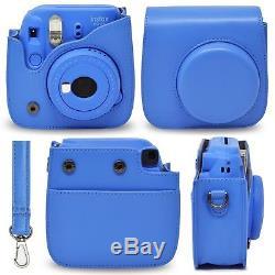 Fujifilm Instax Mini 9 Instant Polaroid Camera Accessories Set Bundle, 40 Sheets