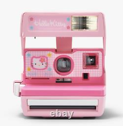Hello Kitty Instant Polaroid 600 Camera Rare and Limited Edition Vintage