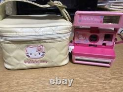 Hello Kitty Instant Polaroid Camera 600 in Box Sanrio Japan Good Used