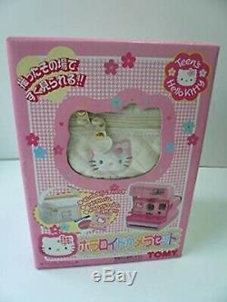 Hello Kitty Polaroid 600 Instant Camera Pink Limited Sanrio TOMY F/S Rare New