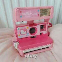 Hello Kitty Polaroid 600 Instant Camera Sanrio Kawaii From Japan F/S