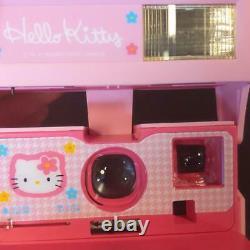 Hello Kitty Polaroid Instant Camera Pink Kawaii Japan Sanrio F/S tracking# Used