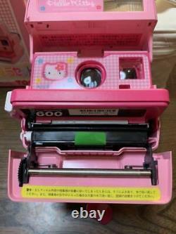 Hello Kitty Polaroid Instant Camera Pink Sanrio+Film+Bag+Album SET Good Working