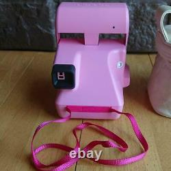 Hello Kitty Polaroid Instant Camera Pink Sanrio with Bag Good Concition