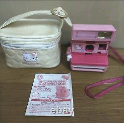 Hello Kitty Polaroid Instant Camera Pink from Japan Sanrio Bag&Manual F/S