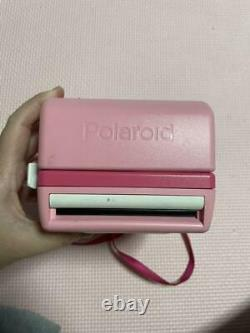 Hello Kitty Polaroid Instant Camera Pink from Japan Sanrio with Bag F/S