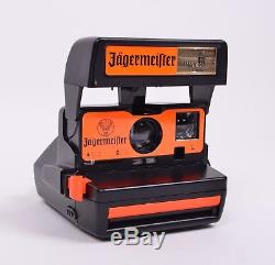Jagermeister Promo Polaroid 600 Instant Film Camera Tested & Working Rare