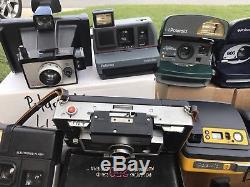 LOT OF 15 POLAROID Cameras 1 Case + (1) Kodak Bundle