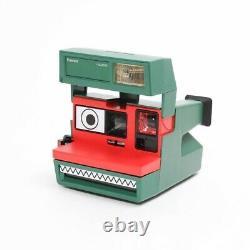 Lacoste x Polaroid Kit Polaroid 600 Instant Film Camera