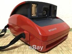 Limided, Rare, N. Mint++Polaroid Rossa One 600 Instant Red Film Camera from JAPAN