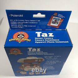 Looney Tunes NIB Sealed Polaroid 600 Instant Camera Taz Tasmanian Devil