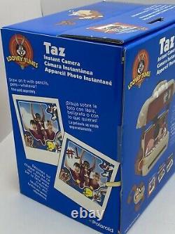 Looney Tunes NIB Sealed Polaroid 600 Instant Camera Taz Tasmanian Devil (MINT)