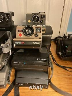 Lot of 18 Polaroid Instant Cameras SX-70 600 Spectra First Edition Pro Sears SE