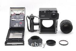 MINTPolaroid 600 SE Instant Camera with Mamiya 127mm F/4.7 From JAPAN