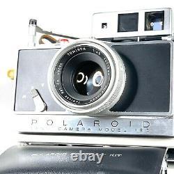 MINT Polaroid 180 Land Camera w Tominon 114mm f4.5 Lens Complete Set