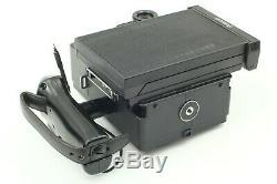 MINT Polaroid 600 SE Camera + Mamiya 127mm f4.7 Lens with FP-100C x2 From Japan