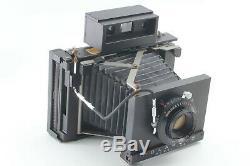 MINT Polaroid Model 185 40th Anniversary withTominon 114mm f4.5 from JAPAN 1713