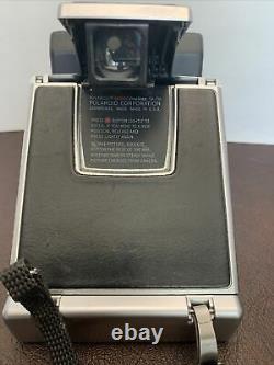 MINT Polaroid SX-70 Land Camera Sonar One Step Tested